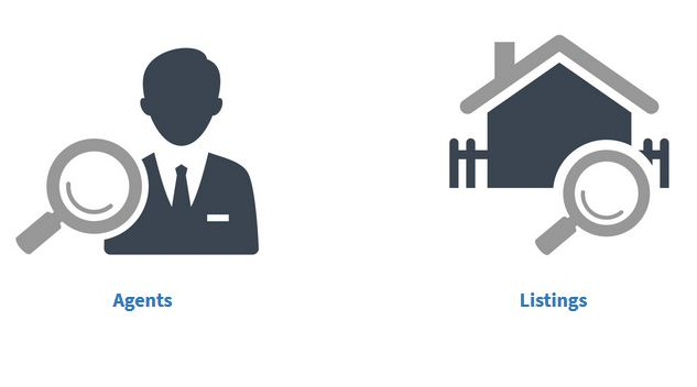 agents and listings